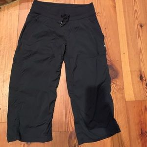 Lululemon Capri Studio Pants Unlined Black